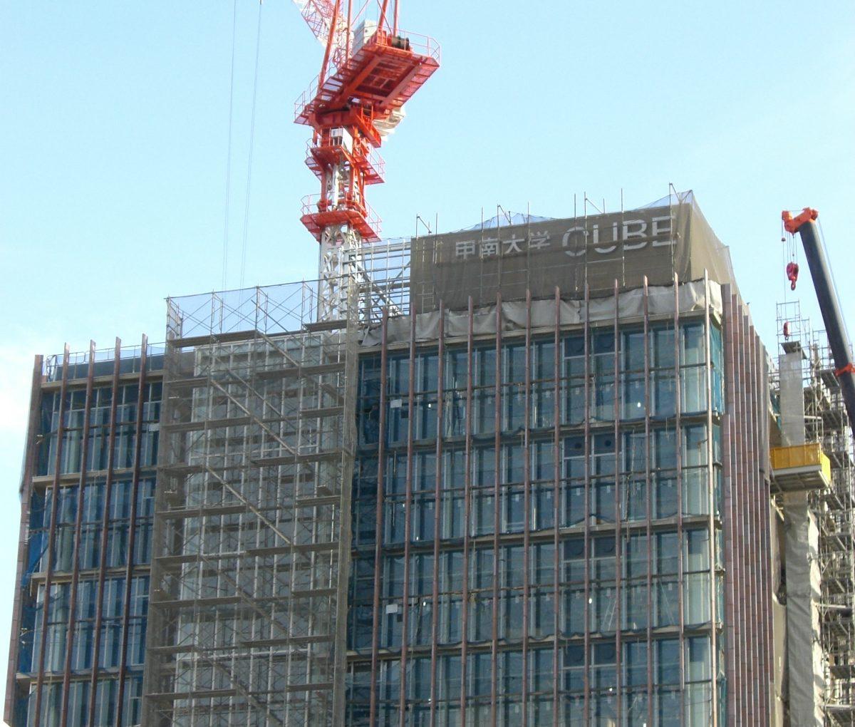 建築中のキャンパス (藤井)