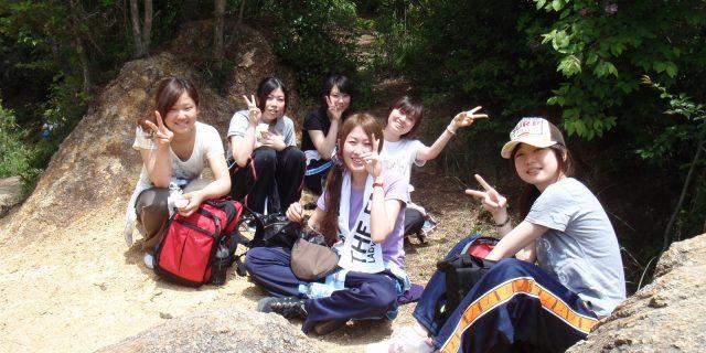 授業で六甲山へハイキング!