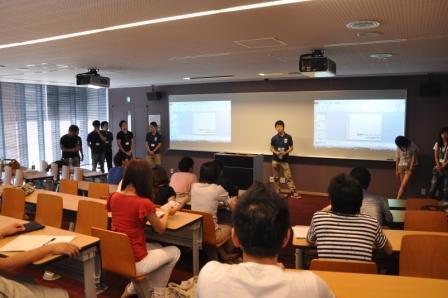 岡本キャンパス4年生による就職相談会