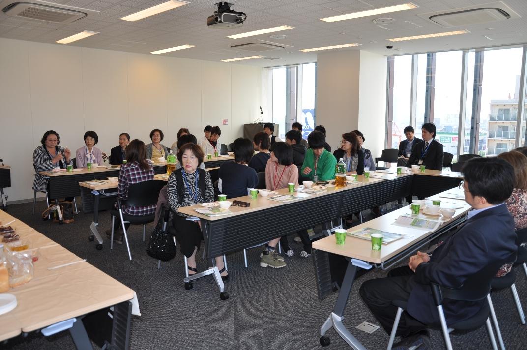 兵庫県の特産品をCUBEで試食!「食の交流会」