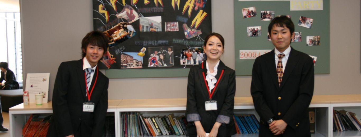 特別留学コース1年生USJプロジェクトポスタープレゼンテーション(5月28日)