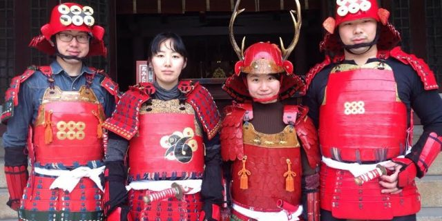 大阪城3DマッピングでCUBE生が活躍中!