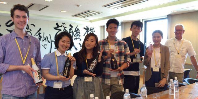ピッツバーグ大学の留学生が大関株式会社を訪問!