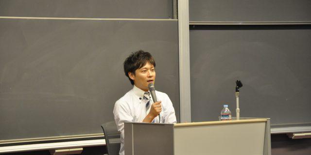 本学OB 毎日放送アナウンサー 大吉 洋平 様 にご講演いただきました。