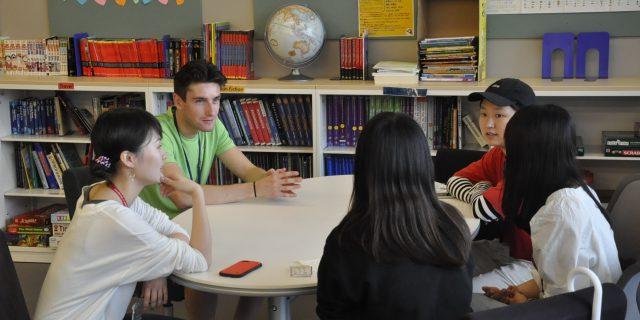 ピッツバーグ大学からの留学生がCUBEにやってきました