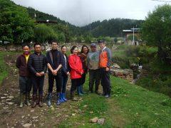 ブータン山村における国際協力の様子が現地日刊紙で紹介されました!!