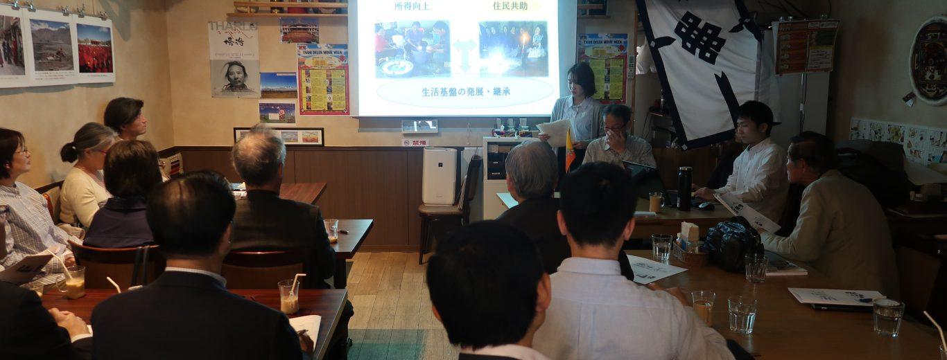 CUBE生3名がJICA事業での活動経験をプレゼンしました!
