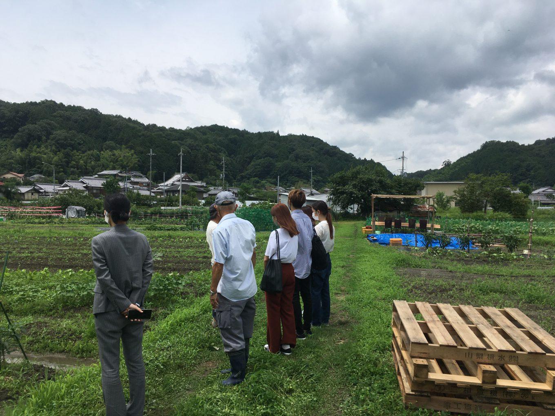 貸し農園事業を現地視察しました ~プロジェクトを通して学んだこと~